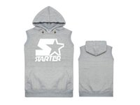 Wholesale 100 cotton top quality wutang autumn and winter with a hood vest sweatshirt coat hip hop streetwear style two colors