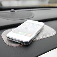 car mats - Black Car Dashboard Sticky Pad Mat Anti Non Slip Gadget Mobile Phone GPS Holder Interior Items Accessories