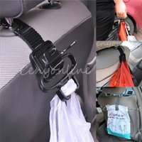 Wholesale Best Price Auto Car Vehicle Seat Headrest Hook Bottle Purse Bag Organizer Holder Lifter Hand Tool Hanger Shopping Good Helper