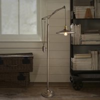Wholesale RH Retro Living Room European style Restaurant Is Decorated In An American Industrial Lifting Pulley Floor Lamp