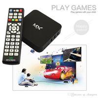 Wholesale Smart Google MX TV Box G BOX XBMC Fully Loaded AML8726 Dual Core Android TV Box G G