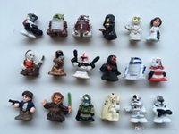 Wholesale star war pvc figures size cm several styles randon mixed