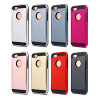 Wholesale 2016 New arrive Top quality beautiful colorful shockproof TPU PC cell phone case for Iphone plus