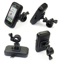 Wholesale Waterproof Phone Bag Bicycle Mount Holder Cradle with Screen Touch for iPhone S Plus S Samsun Galaxy S6 S5 S4 NOTE and Others