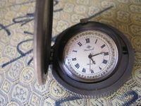 ancient bronze sculpture - ancient bronze sculpture manual mechanical watch the clock Pocket Watch