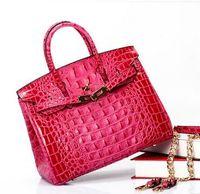Wholesale 2016 brand Moldbaby crocodile back bone Platinum package bags for women handbag handbags designers Single shoulder bag Travel package KB