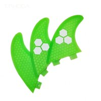 Wholesale 2016 Green FCS G5 surf fins surfboard fins fcs fiberglass with Top quality M size