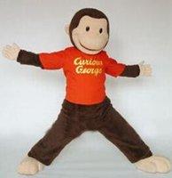 Wholesale TOP quality Curious George mascot costume custom fancy costume kits mascotte theme fancy dress carnival costume