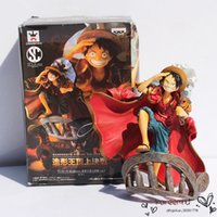 Wholesale 2016 Time limited Real Naruto Patrulla Canina Toys Dragon Ball One Piece Luffy Pvc Action Figure Collection Toy quot cm