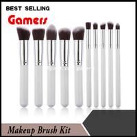 artificial wood - Professional Makeup Brush Kit Make Up Brush Set Kits set Cosmetic Brush Set Kit Tool with Artificial fiber Hot Sale
