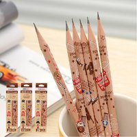 Wholesale Pieces Deli Cute Kawaii Boyage Hb School Classic Novelty Writing Wooden Pencil For Kids Stationary School Supplies
