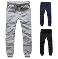 big mens sweat pants - New Mens Casual Big Pocket Baggy HIPHOP Dance Jogger Sport Sweat Pants Trousers
