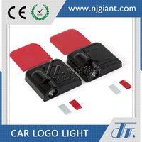 Wholesale GLC Super Small w v Car Door Welcome Light Laser Lights With Car Logo Shadow Light