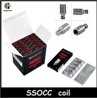 Wholesale HOT selling SSOCC clone Coil Head ohm ohm ohm Kathal Wire Coil fit Subtank Series Toptank Nano Atomizers