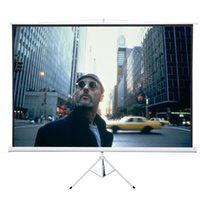 Wholesale 120inch Tripod Compact Portable Projector Projection Screen Matte White with Tripod New