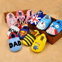 baby animal print fabric - 2016 Baby Soft Cotton Baby First walker shoes baby Lovely Toddler First Walkers Baby shoes Round Toe Flat Shoes colors stock choose freely