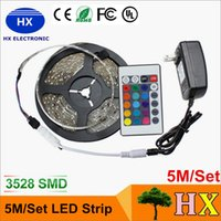 Wholesale Hot sale M Set rgb m RGB led strip Light led Strips light LED waterproof for home decoration