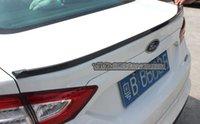 Wholesale oem factory motor car screw new Carbon fiber tail flat Spoilers