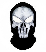 active face masks - winter Punisher mask balaclava beanies hats men ghost skul full face ski mask sport training hood beanie gorros hombre casquette