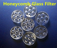 ago stock - Cheap Glass Screen Filter for AGO Snoop Dog Holes mm Diameter Glass Material Honeycomb Screen Filter in stock