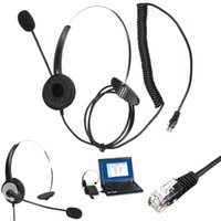 best office telephones - New Bests Headphones Telephone Noise Cancelling Microphone RJ11 Connector Headset Office Call Centre Best Price