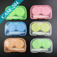 eyeglasses box - Eyeglasses Case Cute Mini Contact Lens Easy Carry Case Travel Kit Plastic Contact Lens Storage Soaking Cases L R Marked