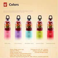 automatic juice maker - Mini Portable Bingo Juicer Cup Sports Bottle Mixer USB Handy Automatic Vegetable Fruit Juicer Blender Smoothie Maker Machine