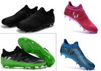 Wholesale New Messi Pureagility FG AG Mens football boots Low soccer shoes FOOTBALL c Size