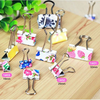 Wholesale Color tail clips Dovetail clamp Paper clip Metal clips mm size a office supplies office necessarily