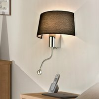 american contemporary art - Contemporary and contracted sitting room reading hotel bedroom passageway LED lamp of the head American wall lamp commercial lighting