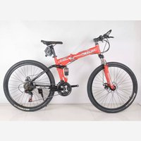 Wholesale The new inch speed mountain bike high carbon steel double disc mountain bike outdoor sports preferred