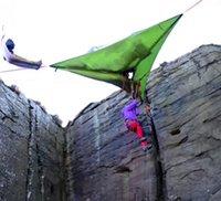 2016 Открытый Gears Дерево Палатки трех человек Пеший туризм Backpacking Палатки Силе Новый продукт на открытом воздухе Кемпинг Охота <b>Tree Tent</b> Бесплатная доставка