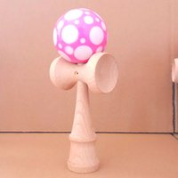 Wholesale candy002 and basketball beech wood more color kendama good iridescence chromosphere and kendama pill