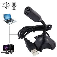 Wholesale Mini Portable Studio Speech USB Microphone Stand Mic With Holder Microfono Computer Microphones For Laptop PC Microfone YD069 SZ