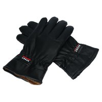 Wholesale Winter Warm PU Leather Gloves Men Waterproof Gloves For Ski Riding Motorcycle Amazing JL