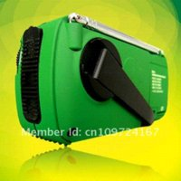 Wholesale DEGEN DE13 CRANK DYNAMO SOLAR POWER EMERGENCY AM FM SW PORTABLE POCKET RADIO STATION RECEIVER receiver radio