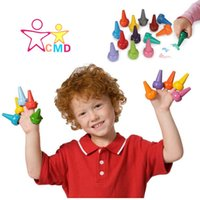 animal finger crayons - learning amp education D animal finger crayons hand learn painting necessary safe and environmental protection