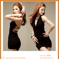 Wholesale Hot sexy ladies formal short party dress one size stock skirt free ship from China W082