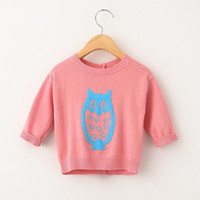 Wholesale Children Sweater New Gymboree Fairy Tale Forest SZ mos T T4T T Owl Gray Sweater Private Baby Baby Christmas Snowman Sweater Series