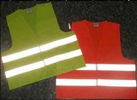 Wholesale Safety Clothing Reflective vest high visibility Warning Safety Vest Construction safety working vest Traffic vest brand new