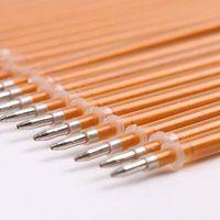 Wholesale High grade Cute Gold ink Gel Pen Refill MM Office School Supplies Gift For Kids Chidren Pen Refills Papelaria