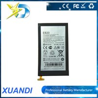 batteries moto - MOTO EB20 Cell Phone Battery Buil In V mah Li ion replacement battery Long Standby Suit For Motorola Droid XT910 XT889