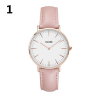 Wholesale Women Girl Simple Elegant Style Quartz Watch Factory CLUSE Famous Brand Work Office Dating Unique Wristwatch