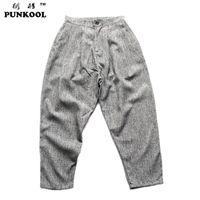 big high current - PUNKOOL Hot Sale Male Big Trousers Tidal Current Male Pants Hiphop Low rise Pants High Quality Casual Pants Harem Pants Men