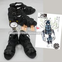 Wholesale K K Project Hisui Nagare cos Cosplay Shoes Boots shoe boot JZ383 anime Halloween Christmas
