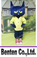 achat en gros de robes de mariée animaux-VO152 personnalisés Pete animaux les adultes Costume Cartoon Cat Mascot Déguisements de performance Carnaval Halloween événement de mariage de Noël
