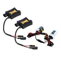 Wholesale 2pcs V W HID kit Xenon Replacement Bulb Kit H7 Slim Ballast Xenon Hid K Car Headlights Hot Selling