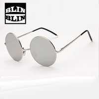 Wholesale Curved Sunglasses - Six Colors Ladies &Gentleman's transmitting hot sale sunglasses Curved mirror leg design UV400 Silica gel nose support