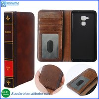 bible with case - Retro Bible Vintage Flip Leather Phone Cover Case For Huawei Honor C Business Book Wallet Pouch With H Nano coated Films