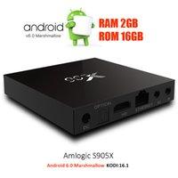 b h - S905X Quad Core X96 K Box IPTV Android Marshmallow IEEE b g n WIFI GB GB Android Ott TV Box support HDMI A K UHD H